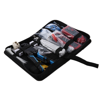 Network Computer Maintenance Tool Kit Cable Tester 200R Network Pliers..