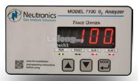 Neutronics Trace Oxygen Analyzer Model 7100