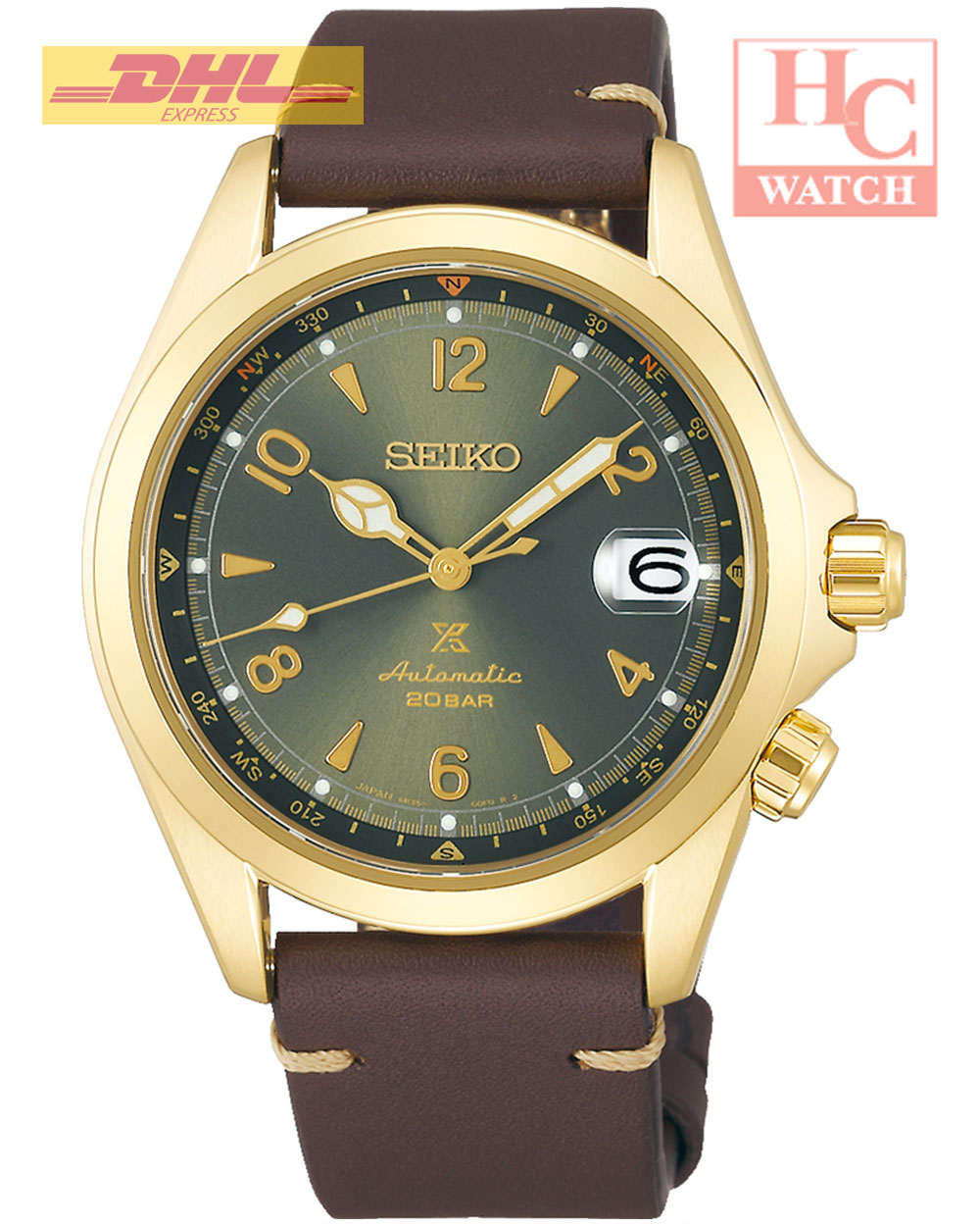 NEW Seiko SPB210J1  Prospex Alpinist Watch