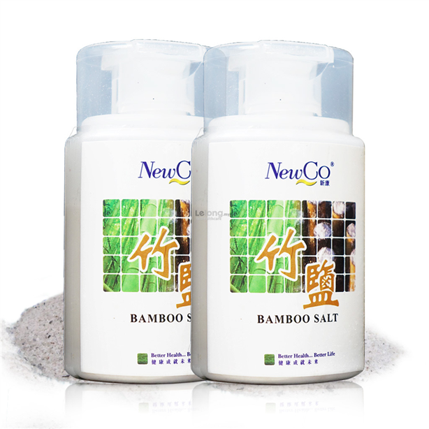 Newco Bamboo Salt 2X 100g 6 Times Roasted