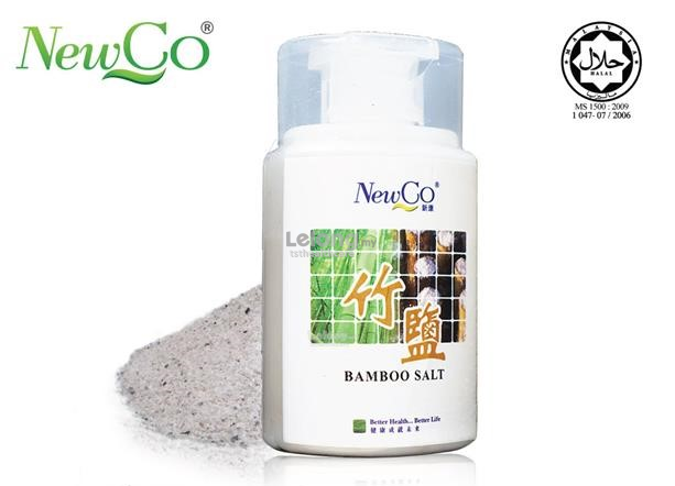 Newco Bamboo Salt 6 Times Roasted 100g