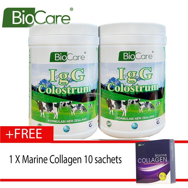 Newco IgG Plus Colostrum 2 X 300g牛初乳奶ľ