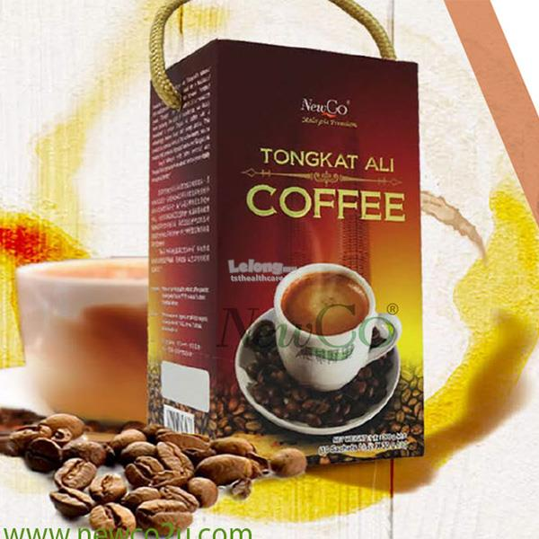 Newco Tongkat Ali Coffee 2 X 10 sachets FREE NEWCO CHLOROPHYLL & CHLOR