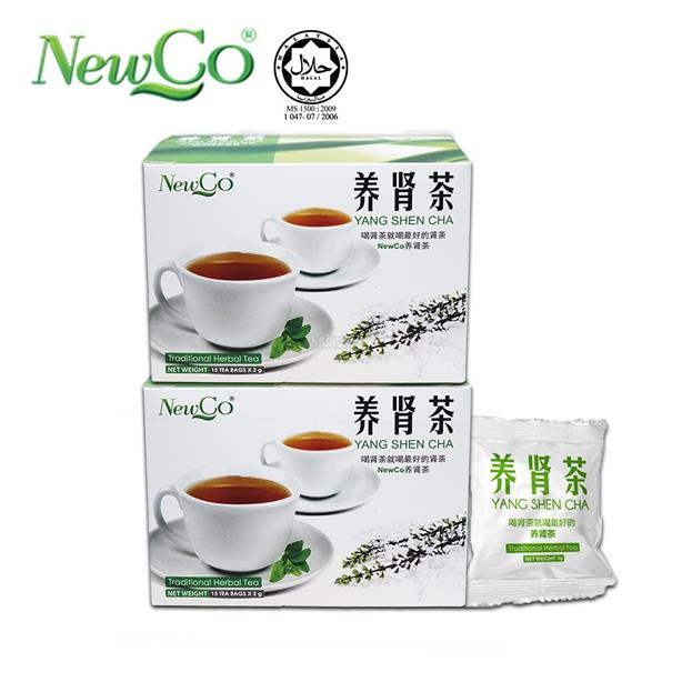 Newco Yang Shen Cha Herbal Tea 15's x 2 Boxes
