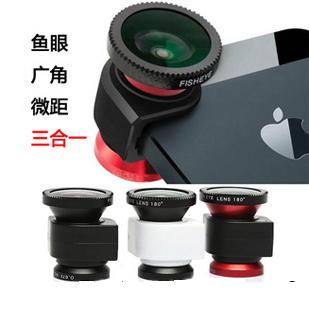 NEWEST-MACRO Lens Wide Angle Fisheye Lens For iPHONE 5 For Sales!!