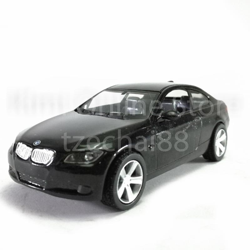 Newray Die Cast BMW 3 Series Coupe 1:43 Black Color Model Collection N