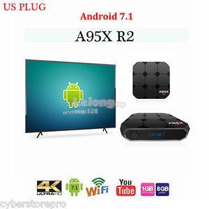 NEXBOX A95X R2 TV BOX S905W ANDROID 7 1 2 2gb/16gb