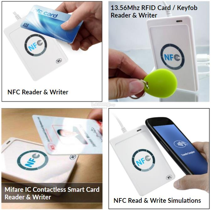 NFC ACR122U-A9 Mifare IC Card Reader Writer with SDK RFID 13 56Mhz ACS