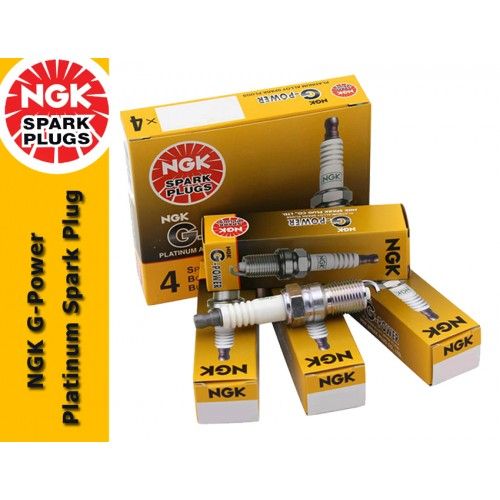 NGK G-Power Platinum Spark Plug for Toyota Vellfire 2.4 (1st Gen)