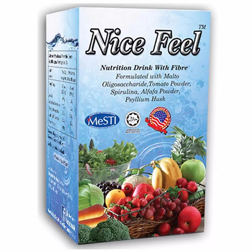 Nice Feel Fiber Nutrition Drink For Constipation/Detox/ (VEGE FLAVOUR)