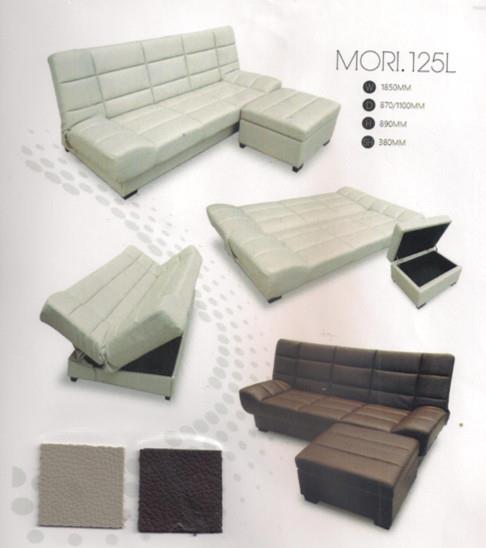 NiceHome Furniture Hot Price With Sofa Bed/L-shape model - 125L