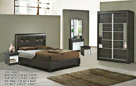 NiceHome furniture special offer 5pcs bedroom set model - 19002
