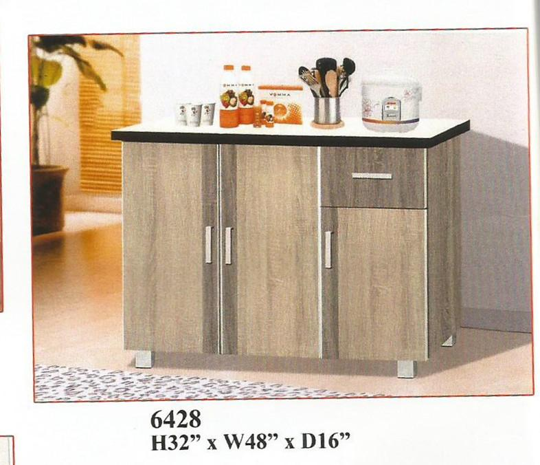 NiceHome furniture special offer of kitchen cabinet model - 6428