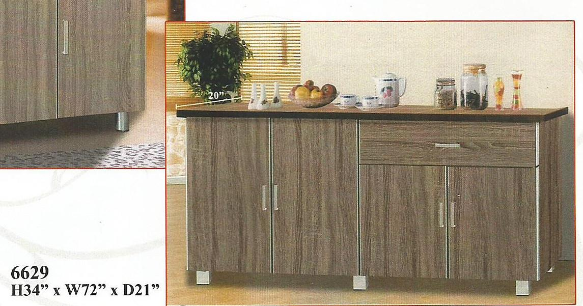 NiceHome furniture special offer of kitchen cabinet model - 6629