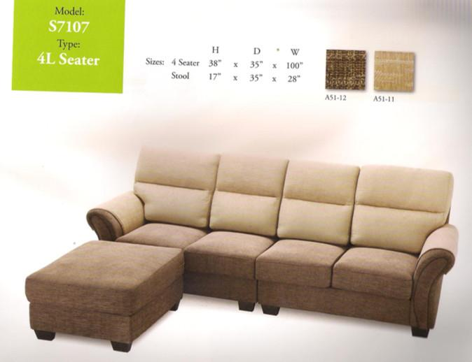 nicehome special offer price sofa 4-L-shape model-S7107