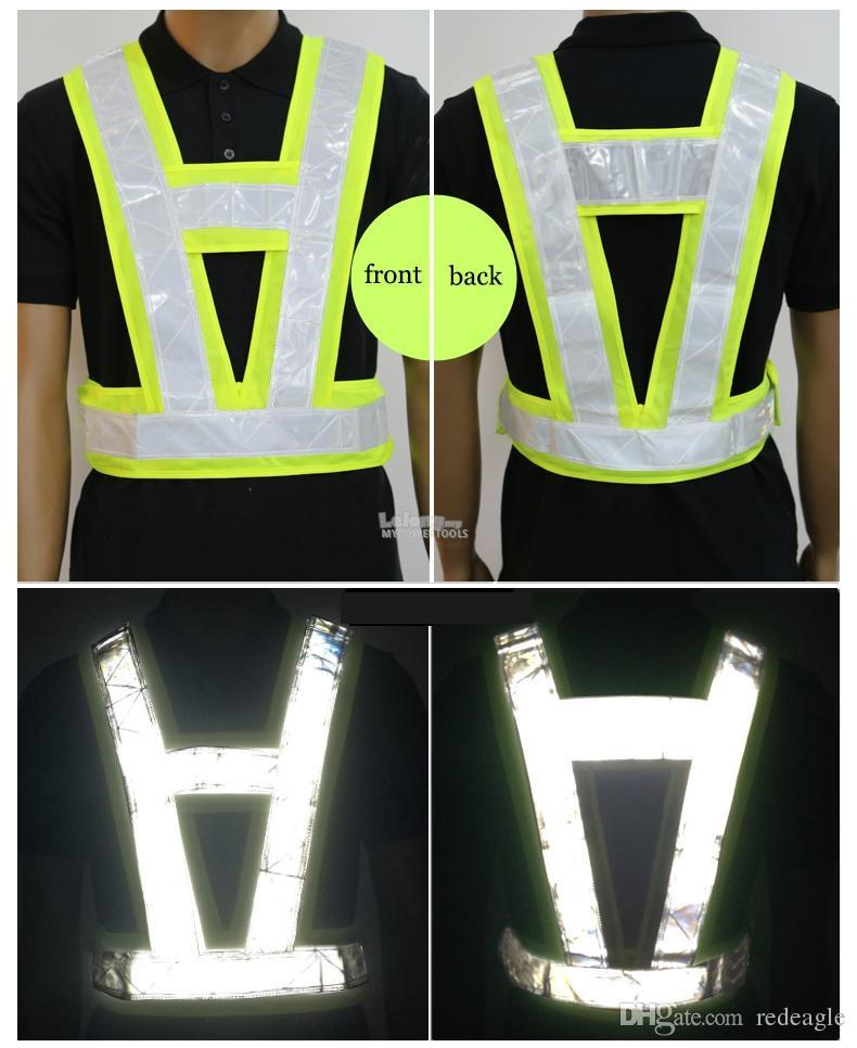 Niceman V-shape High Visibility Reflective Safety Vest
