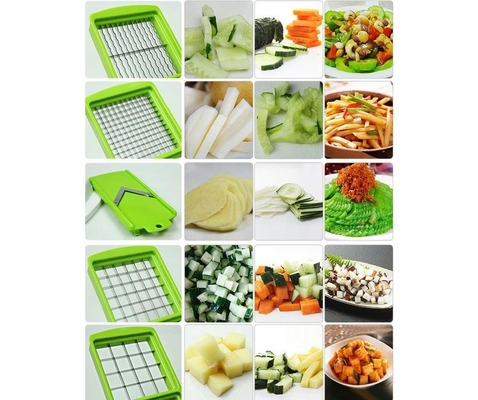 Nicer Dicer Plus Multifunction Kitchen Chopper/Cutter/Slicer
