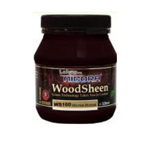 NICORA WOODSHEEN WATER-BASED LACQUER 320ML