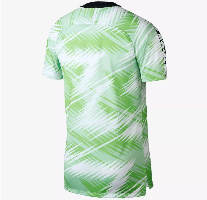 best authentic 4e144 a7909 Nigeria National Team Prematch Jersey World Cup 2018 football for Man