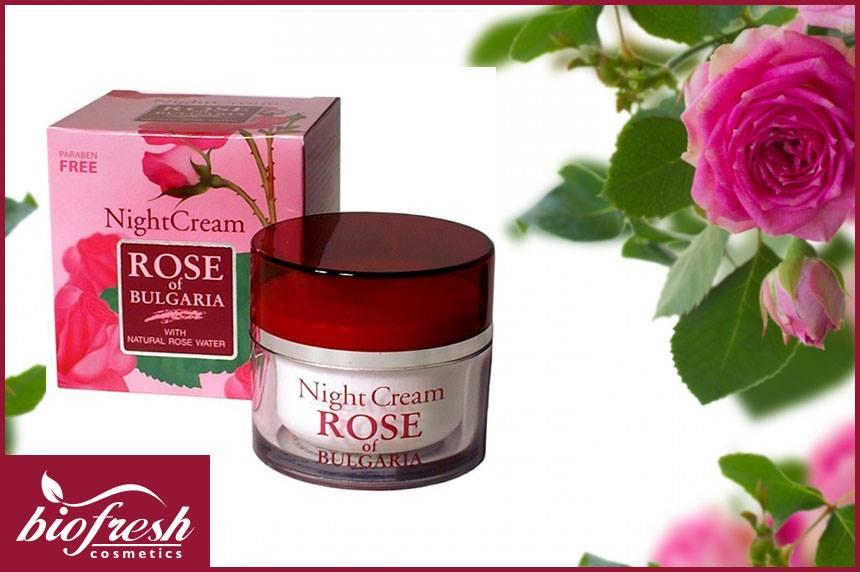 Night cream 50 ml - Biofresh Rose of Bulgaria