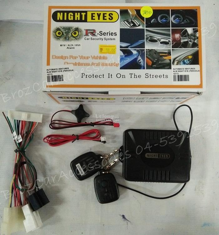 NIGHT EYES R-SERIES CAR SECURITY AL (end 10/28/2018 3:15 PM)