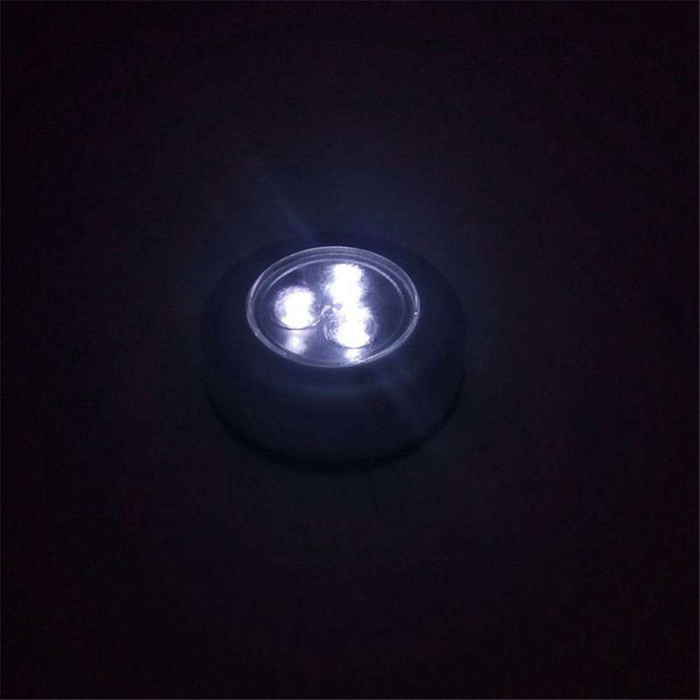 Night Lights - 3led Auto Car Interior Trunk Door Emergency Push Touch ..