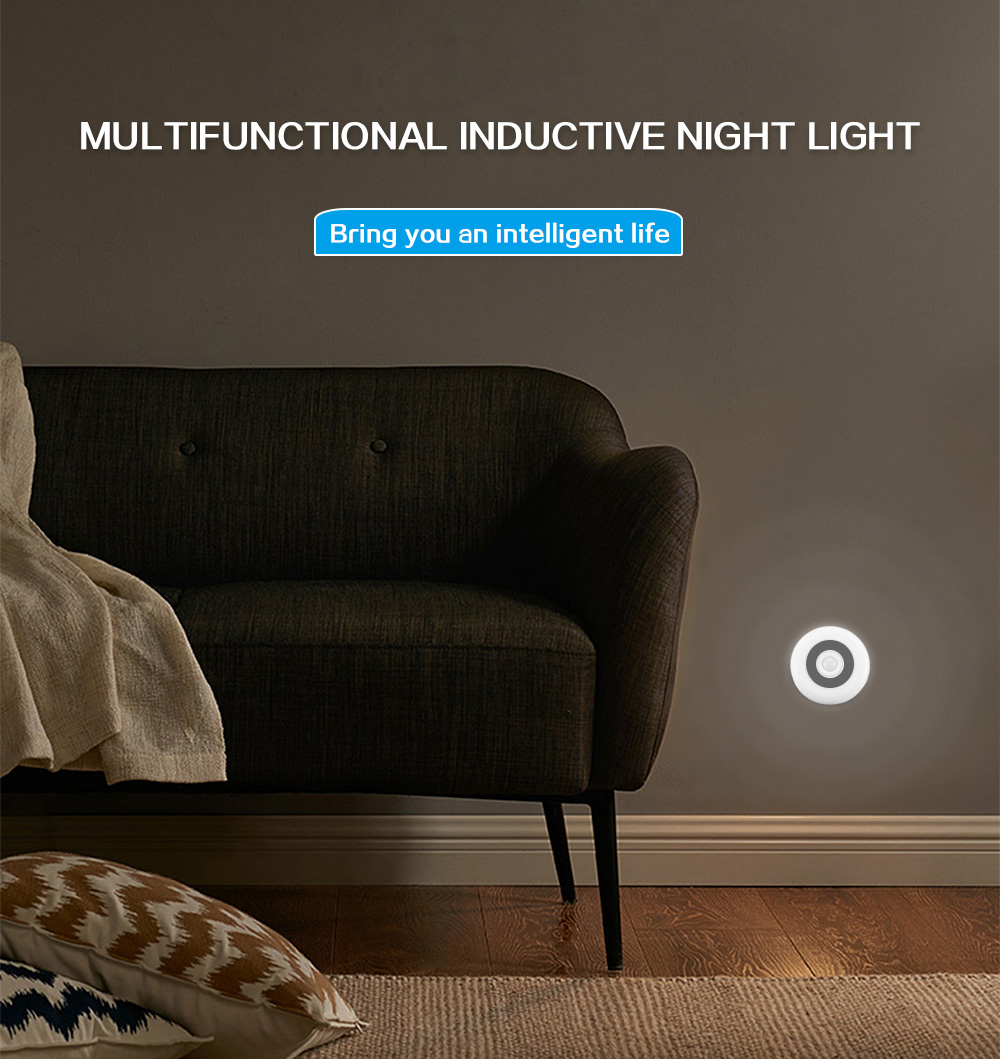 Night Lights - Multifunctional Inductive Night Light Lamp For Wardrobe..