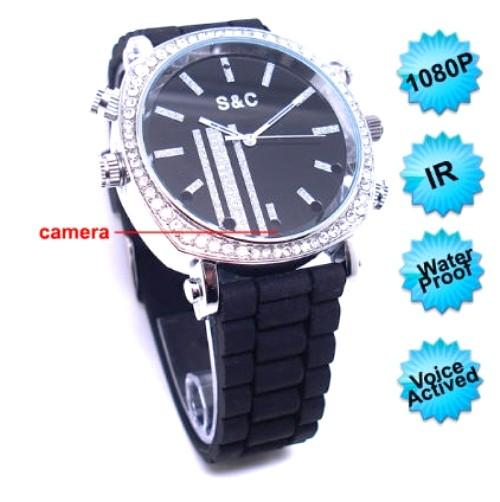 Night Vision Voice Actived Female Wrist Watch Camera (WCH-13C).
