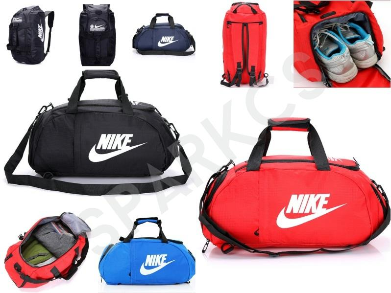 Nike 3 Ways Gym Bag Fitness Shoes Compartment High Quality