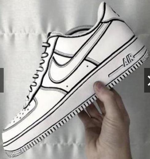 c7d81368724817 Nike Air Force Cartoon Custom Inspir (end 7 11 2020 7 15 PM)