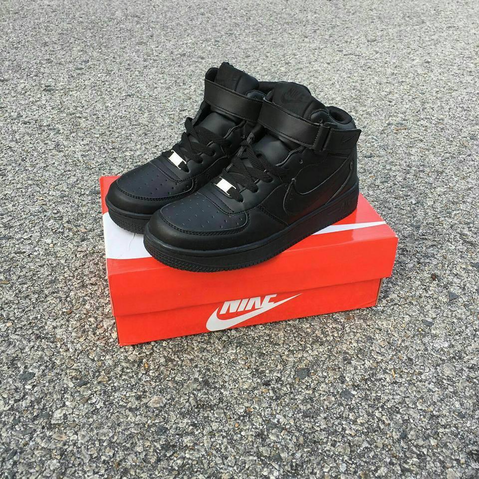 NIKE Air Force High Cut Shoe 44308af208