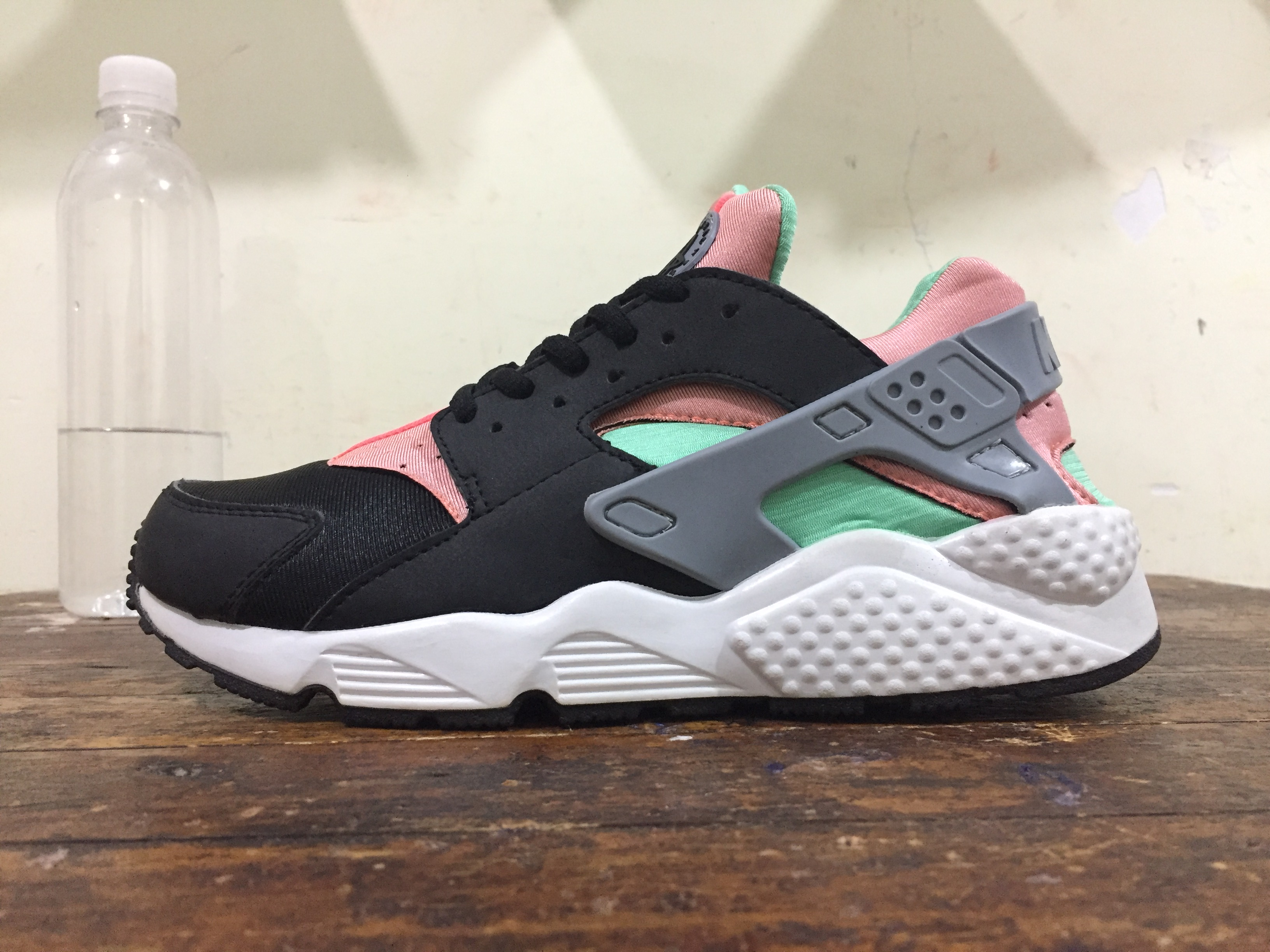 wholesale dealer 4a41f c9f93 ... sale nike air huarache black pink green. u2039 u203a eca3c 87a55