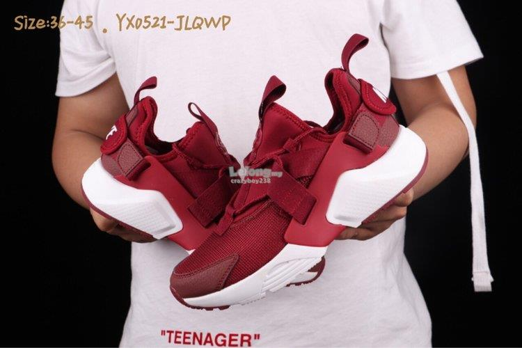 quality design 89059 b656a NIKE AIR HUARACHE CITY LOW 5 red