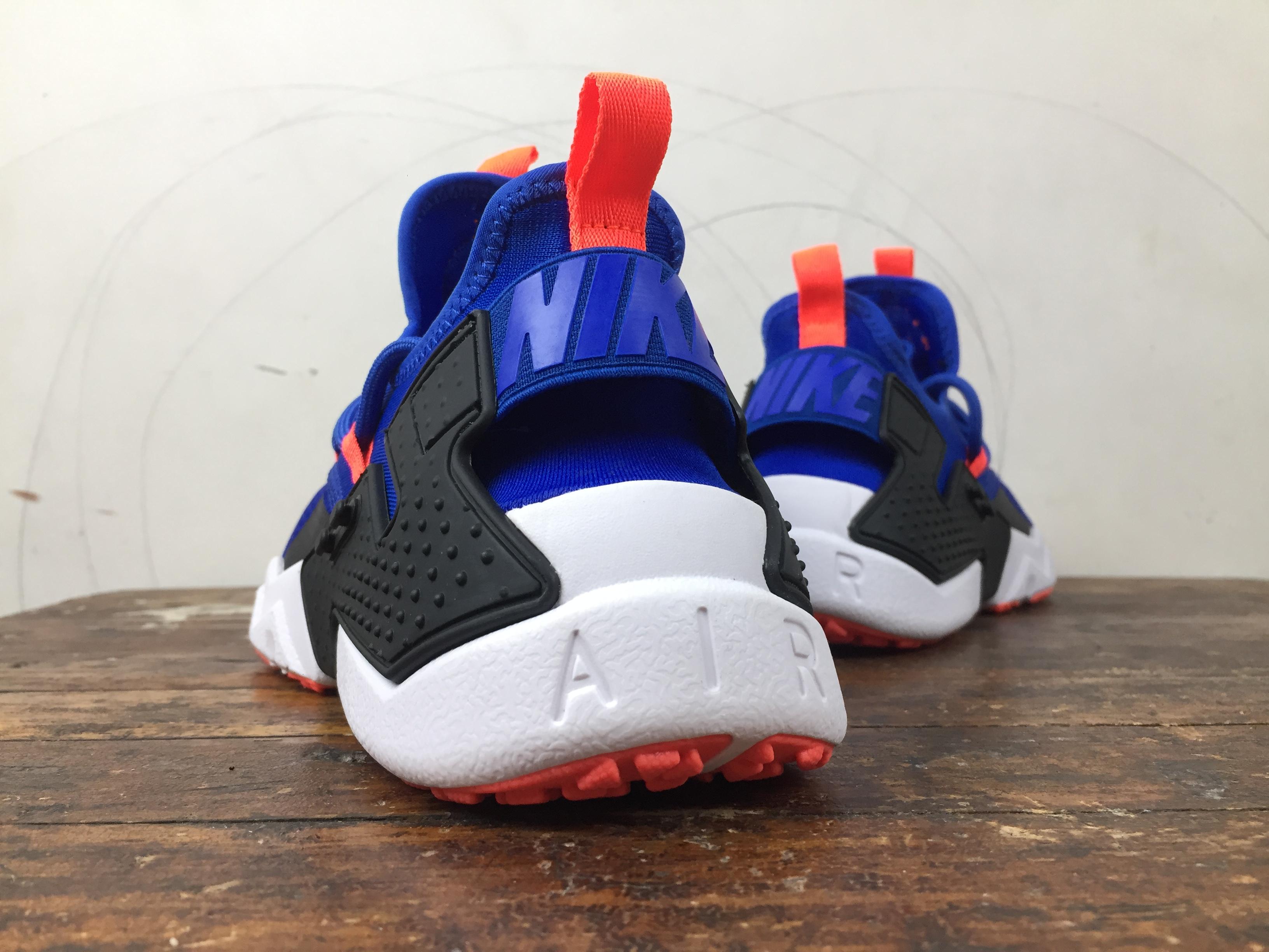 new style f8646 ee30c ... ireland nike air huarache drift blue orange 3fcbb 469fb