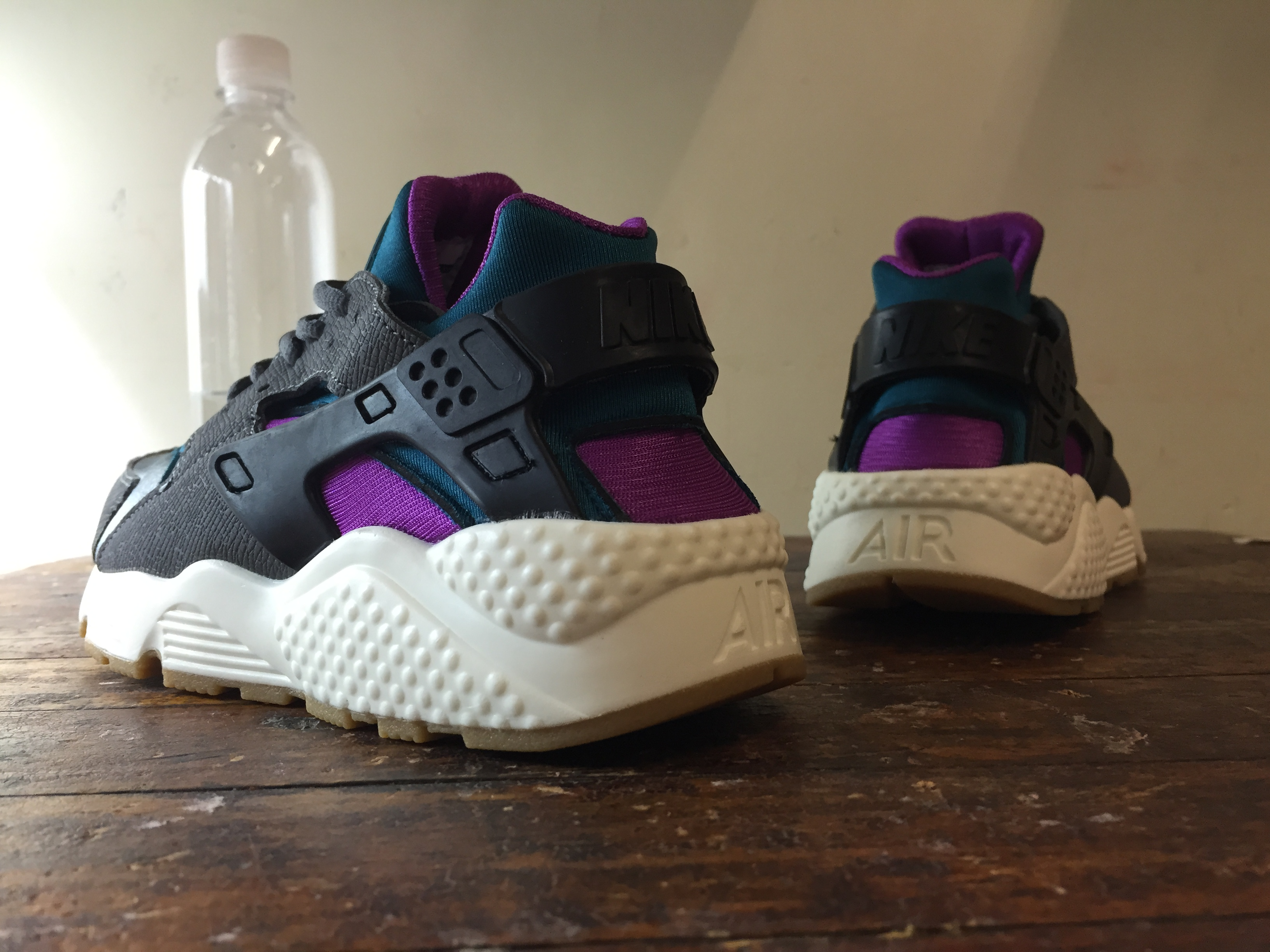 outlet store a7a5e 02657 ... australia nike air huarache grey purple 51490 adf52