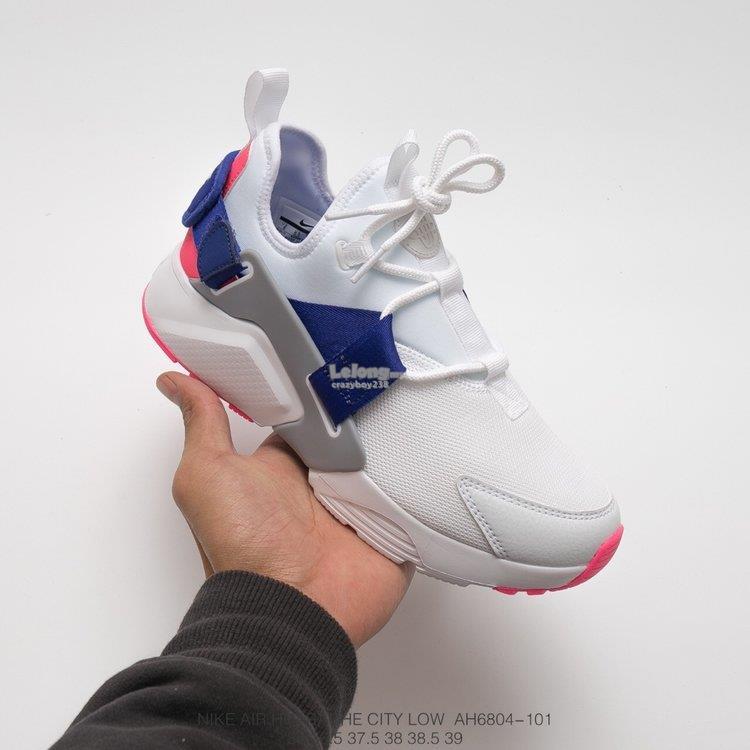 Nike Air Huarache white. ‹ ›