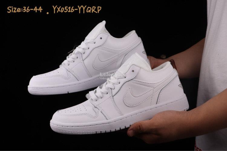 save off 25e6d fc9d3 NIKE Air Jordan 1 Low white