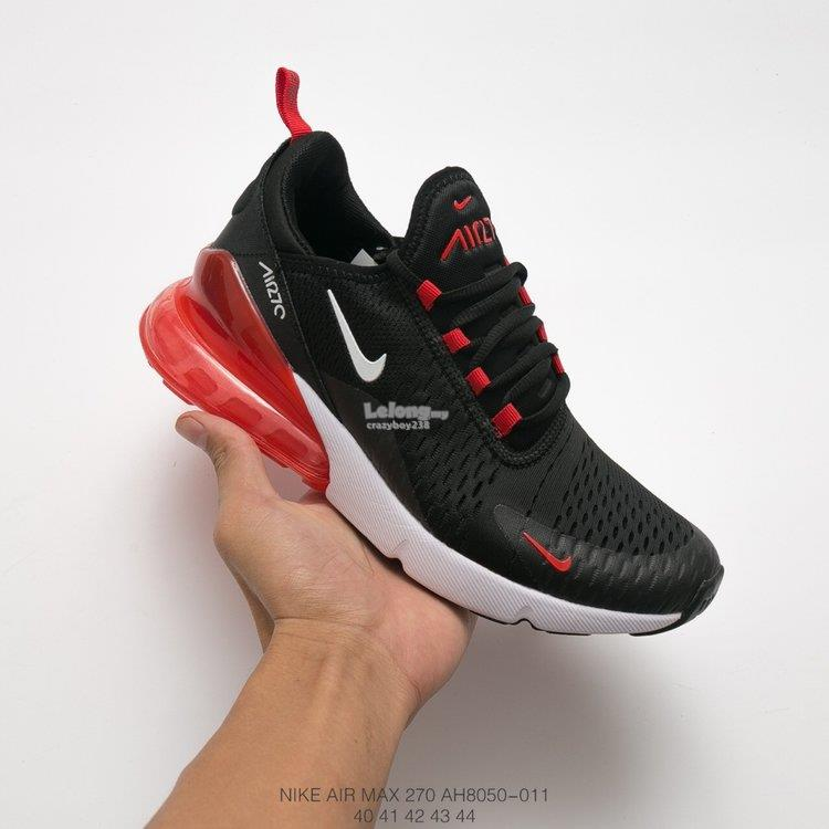 983a7c0f1a NIKE Air Max 270 Black red (end 5/14/2019 12:15 PM)