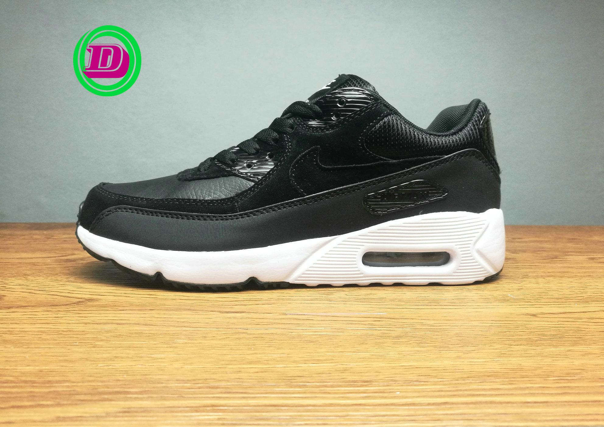 9db204433c ... shop nike air max 90 leather black. u2039 u203a 682a8 0ee8e
