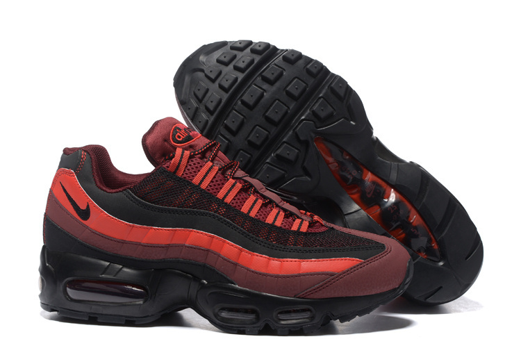 91894277223d0 amazon nike air max 95 black and red 193f2 71250