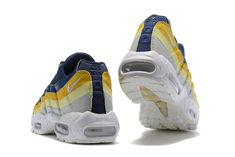 6ee46fa439 ... canada nike air max 95 essential dark blue yellow 6120f dc13d ...