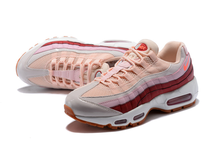 f5f678fe073d8 wholesale nike air max 95 essential pink red cd7e6 6b19b