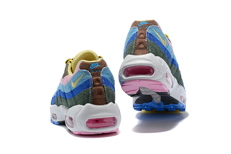 0cfa65ec4b ... czech nike air max 95 essential yellow pink blue 56b3c 87285 ...