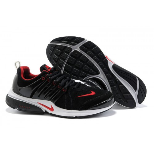 nike air presto black red