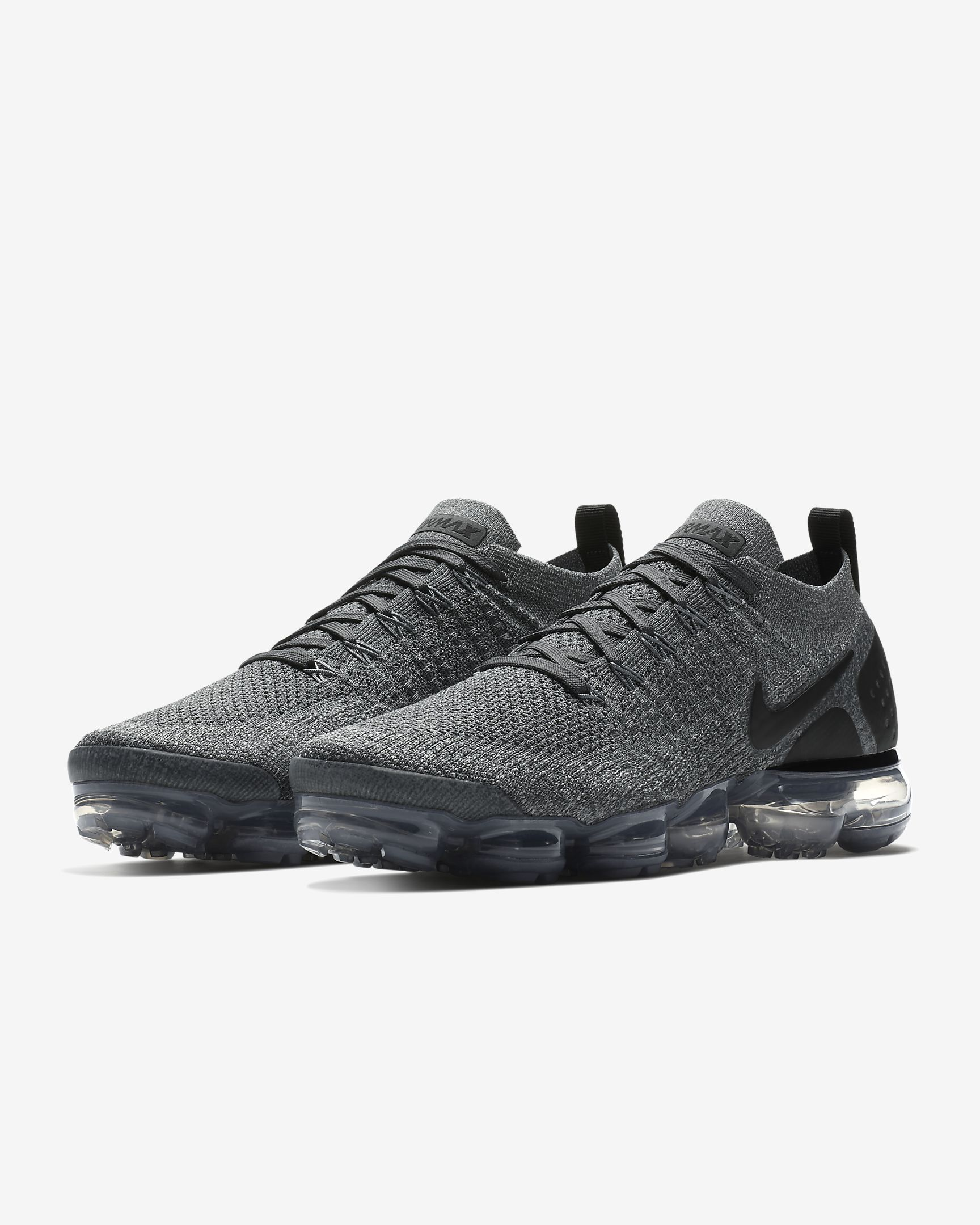 NIKE AIR VAPORMAX V2 GREY BLACK