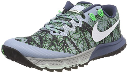ad28c8f287ff0 ... netherlands nike air zoom terra kiger 4 sz 9.5 mens running blue grey  white diffused.