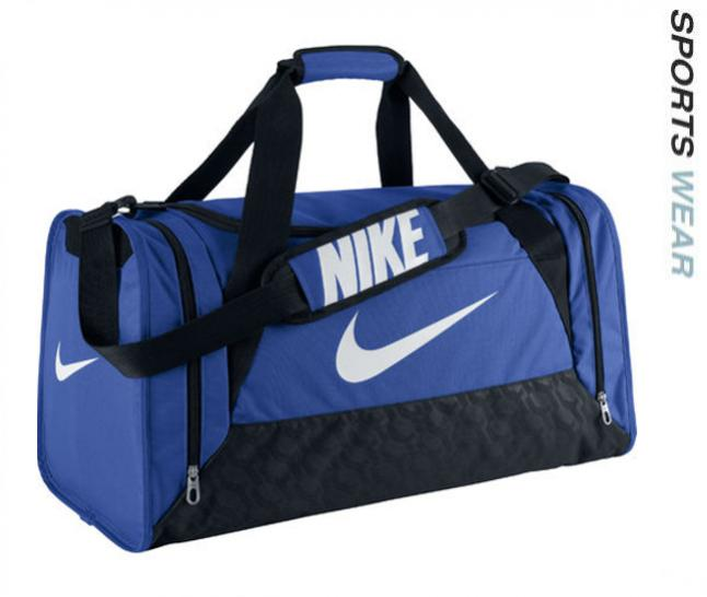 df9661f977f Nike Brasilia 6 Medium Duffel Sports Bag - Blue - BA4829-411 -BA4829-