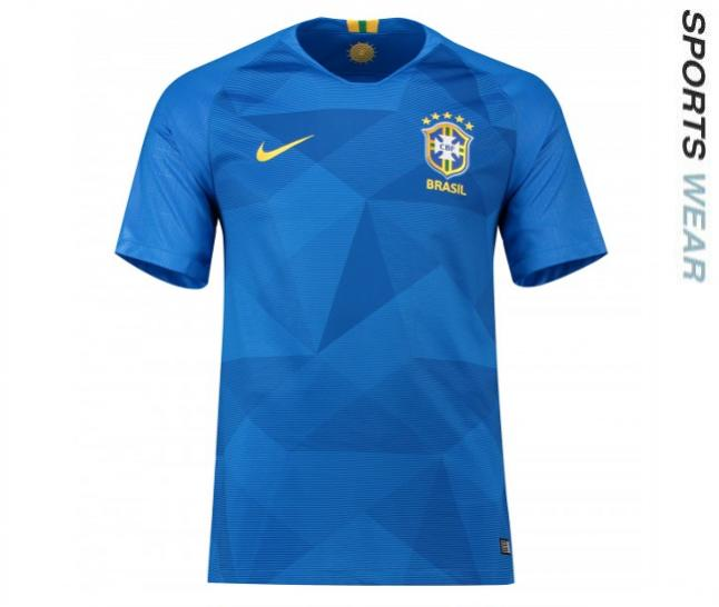 Nike Brazil 2018  Away Shirt - Blue 893855-453