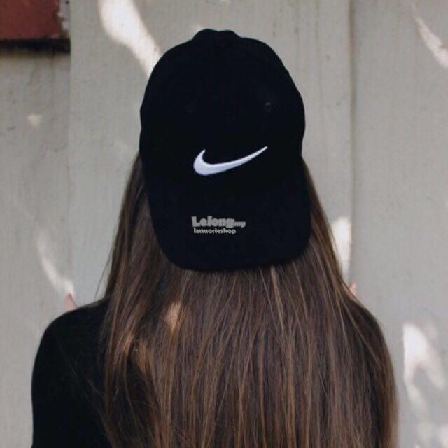nike head cap