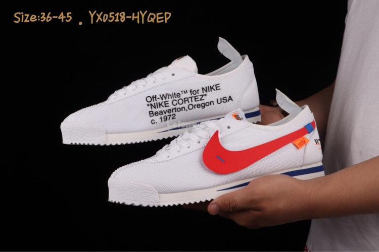 low priced e85ac 68a62 Nike Cortez 72 Si white red